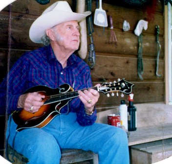 Bill Monroe pickin with my mandolin